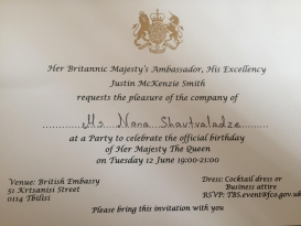 The Official Birthday of Her Majesty The Queen